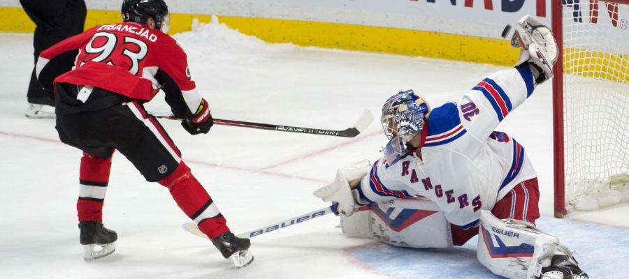 Шведский хоккеист сборной Нью-Йорка Зибанежад получил перелом