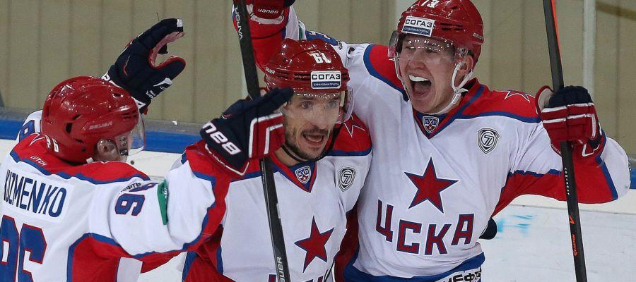 В этот раз «ЦСКА» получили победу над «Барысом» в чемпионате КХЛ